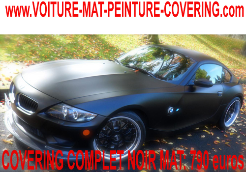 bmw z4 peinture noire mate bmwnoirmatpeinturecovering. Black Bedroom Furniture Sets. Home Design Ideas